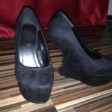 Pantofi - Pantof dama, Marime: 35, Culoare: Negru