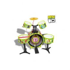 Set tobe baterie Ben10 Reig Musicales - Instrumente muzicale copii