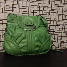 Geanta de piele pentru femei tip Tote Bag Guess 100% originala verde superba! - Geanta Dama Guess, Marime: Alta