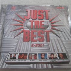 Various ‎– Just The Best 2/2001 _ dublu cd, Germania - Muzica Dance ariola