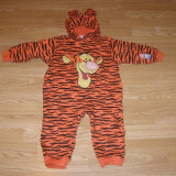 Costum carnaval serbare animal tigger tigru pentru copii de 2-3 ani marime L - Costum copii, Marime: Masura unica, Culoare: Din imagine