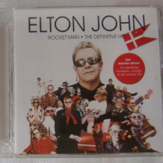 Elton John - Rocket Man /The Definitive Hits - Muzica Pop universal records, CD