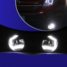 Proiector ceata LED DRL compatibil Logan si alte masini, Dacia, LOGAN (LS) - [2004 - 2012]
