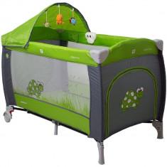 Pat pliant Samba Lux - Coto Baby - Verde - Tarc de joaca