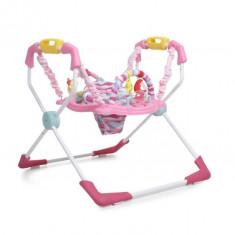 Saritor Ajustabil Copii Jumper CANGAROO XFactor Roz - Masuta/scaun copii