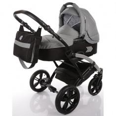 Carucior copii 2 in 1 cu landou Knorr-Baby Volkswagen Polo Gri