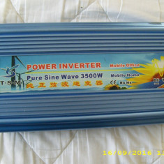 Inverter 24 vdc/220vac 3500w - Invertor sudura