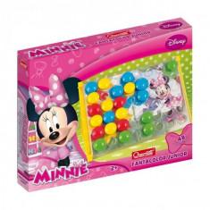 Joc Creativ Fanta Color Junior Minnie Quercett Constructii Mozaic - Jocuri arta si creatie Quercetti