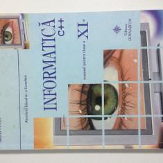 Manual Informatică clasa a XI-a - Manual scolar Altele, Clasa 11