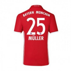 Tricou BAYERN 25 MULLER - Tricou echipa fotbal, Marime: L, M, S, XL, XXL, Culoare: Din imagine, De club, Bayern Munchen, Maneca scurta