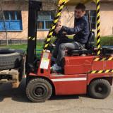 Stivuitor Balkancar 1.6 diesel cu carte ISCIR