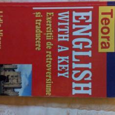 English with a key exercitii de retroversiune si traducere - Curs Limba Engleza teora