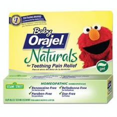 Baby Orajel Naturals - Homeopat - Bebelusi Durere Dinti