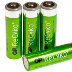4x GP ReCyko+ AA 2050mAh BULK baterii reincarcabile NK129 - Baterie Aparat foto