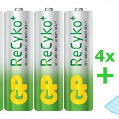 4x GP ReCyko+ AA 2000mAh baterii reincarcabile + cutie BL180 - Baterie Aparat foto