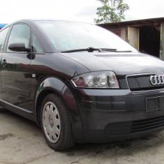 Audi A2, 1.4 benzina, an 2002, 179000 km, 1398 cmc