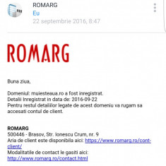 Domeniu web www.muiesteaua.ro - Site de Vanzare