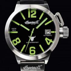 Ceas original Ingersoll Bison No. 6 Automatic IN8900SBK - Ceas barbatesc