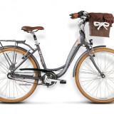 Bicicleta Femei, Kross, Presto, 26 2016, Grafit, 26x1.75 inch Kross - Bicicleta pliabile