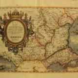 Romaniae Vicinarunqve Regionum uti Bulgariae, Walachiae 1584, Rumelia si regiunile vecine Bulgaria si Valahia 1584