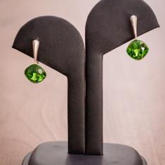 Cercei cu pietre Swarovski 10mm - Cercei Swarovski