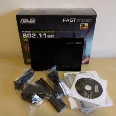 Asus RT-AC68U Wireless Dual-Band AC1900, in cutia originala, cu garantie - Router Asus, Port USB, Porturi LAN: 4, Porturi WAN: 1