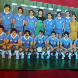 Felicitare - Fotografie Echipa Handbal Steaua Buc.-Antrenor R.Voina - Carte postala tematica, Necirculata, Printata