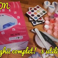 Set unghii - Lampa uv unghii BeautyUkCosmetics
