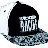 MXE Sapca Moose Racing Arcane culoare Alb/Negru Cod Produs: 25012243PE
