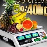 CANTAR ELECTRONIC 40KG ,CANTARE PIATA 40 KG