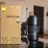 Obiectiv Nikon AF-S DX NIKKOR 55-300mm f/4.5-5.6G ED VR - Obiectiv DSLR